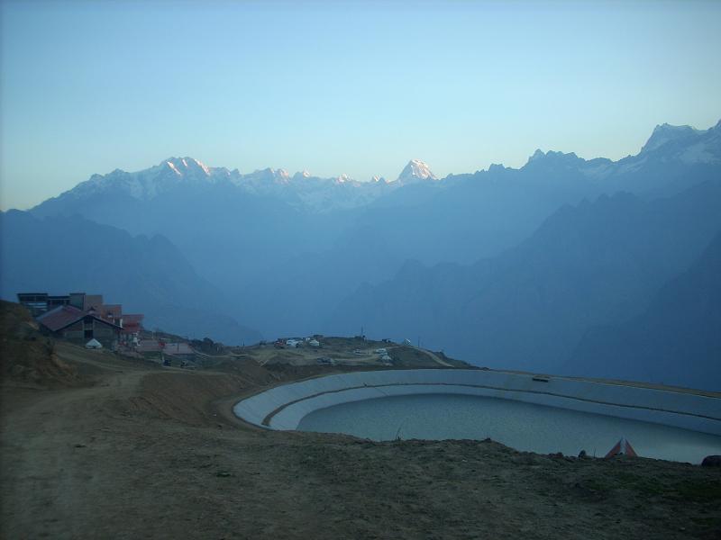 Artifilcial Lake in Auli
