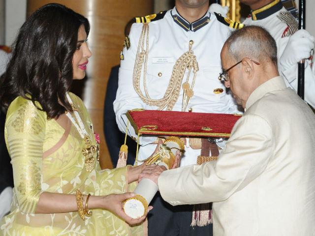 Priyanka Chopra padma awards
