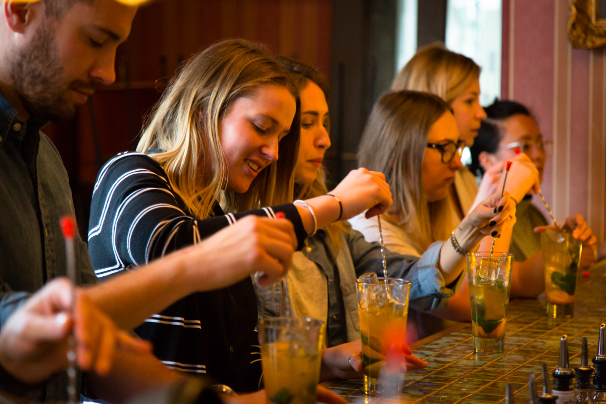 Group Cocktail Making session from an expert