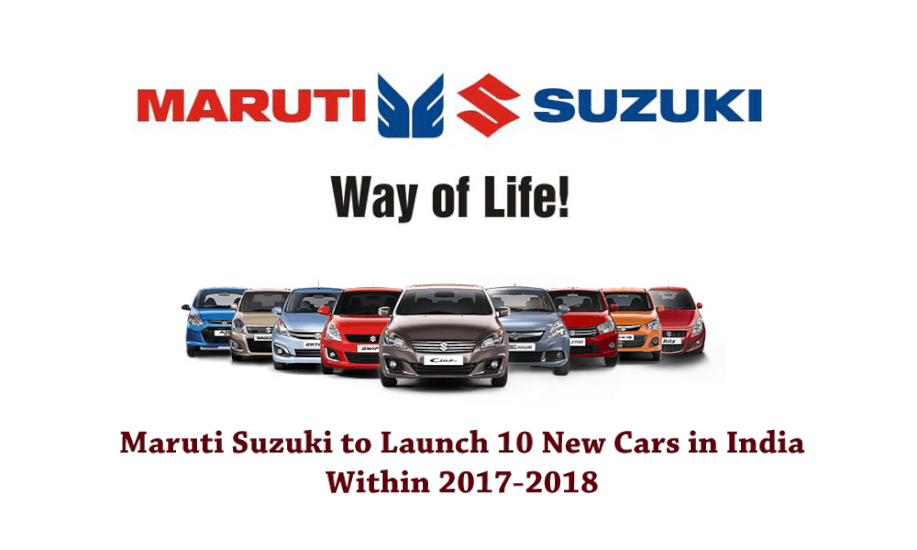 2018 suzuki automobiles. brilliant automobiles maruti suzuki to launch 10 new cars in india within 20172018  yours news inside 2018 suzuki automobiles