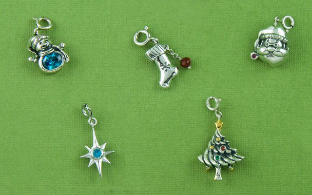 Christmas Jewellery Charms