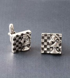 Knight's Move Cufflinks