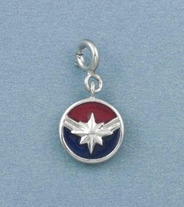 Disney Captain Marvel Charm