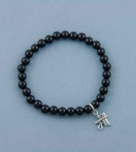 Mom Charm Bead Bracelet
