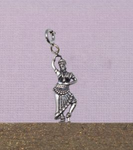 Odissi Dancer Charm