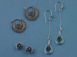 Silver Earrings for Women Online